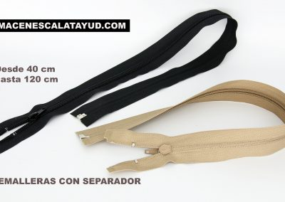 CREMALLERA CON SEPARADOR