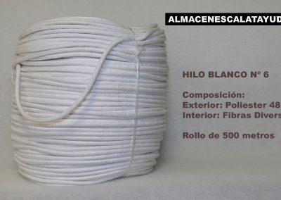 HILO BLANCO 6-500