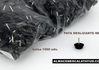 Pata deslizante negra