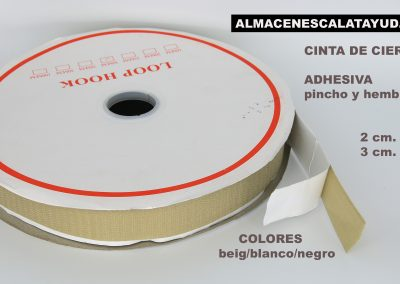 Velcro adhesivo